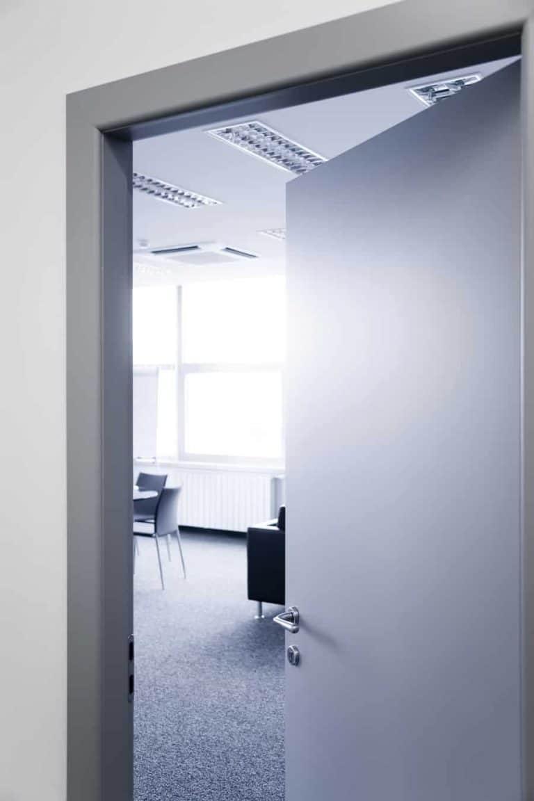 safety door opening