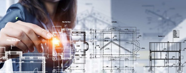 woman engineer wire elevations